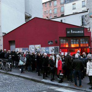 Fin des représentations au Funambule-Montmartre