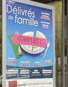 3 représentations complètes à Compiègne